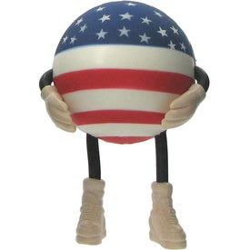 Patriotic Figure Stress Ball
