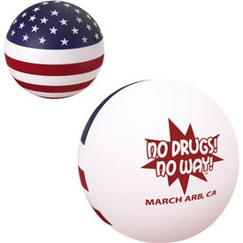 Printed Patriotic Stress Ball