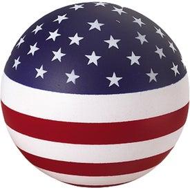 Company Patriotic Stress Ball