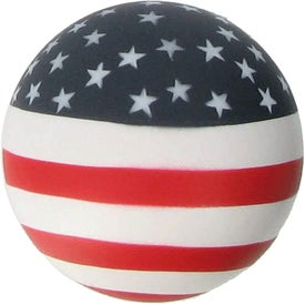Patriotic Stress Ball Printed with Your Logo
