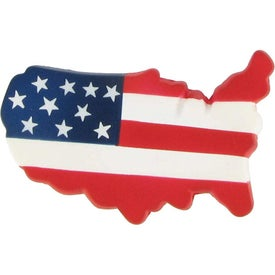 US Map Stress Ball