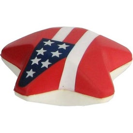 Patriotic Star Stress Ball for Your Organization