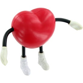 V Heart Figure Stress Toy