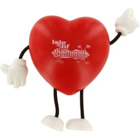 Valentine Heart Figure Stress Ball for Your Church