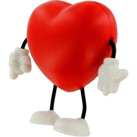 Custom Valentine Heart Figure Stress Ball