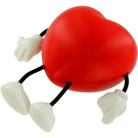 Advertising Valentine Heart Figure Stress Ball