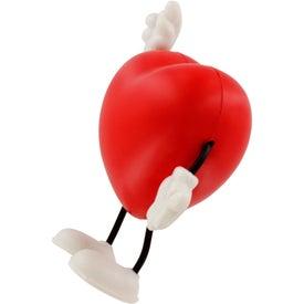 Valentine Heart Figure Stress Ball for Marketing