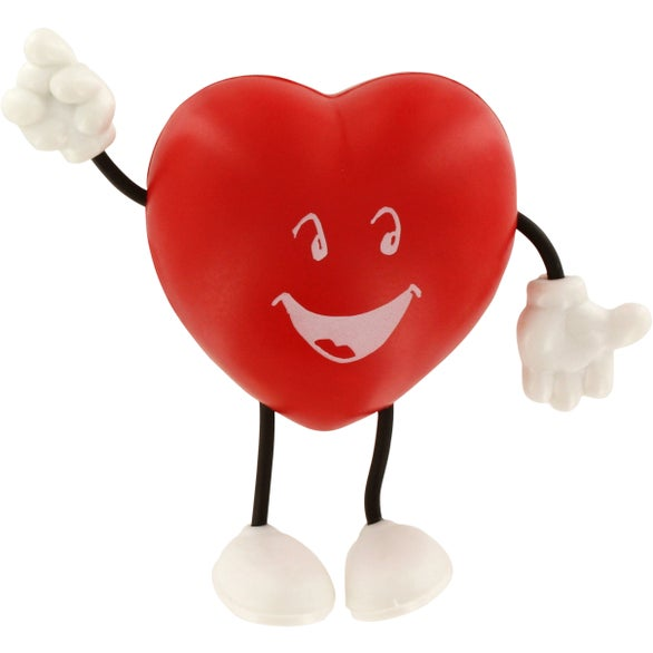 Valentine Heart Figure Stress Ball
