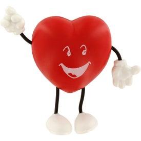 Valentine Heart Figure Stress Ball