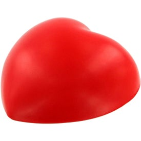 Valentine Heart Stress Ball Magnet with Your Logo