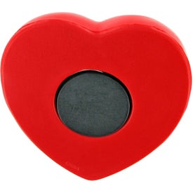 Custom Valentine Heart Stress Ball Magnet