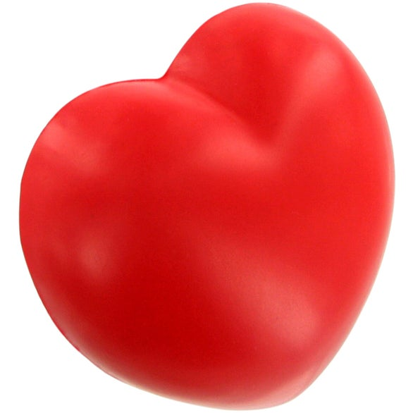 Red Valentine Heart Stress Ball Magnet