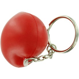 Logo Valentine Heart Stress Ball Key Chain