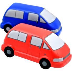 Promotional Van Stress Toy