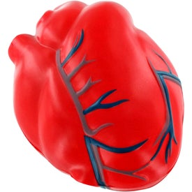 Branded Heart with Veins Stress Ball