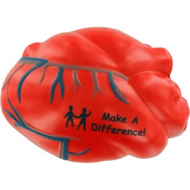 Heart with Veins Stress Ball for your School