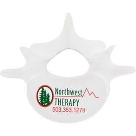 Imprinted Vertebrae Stress Toy