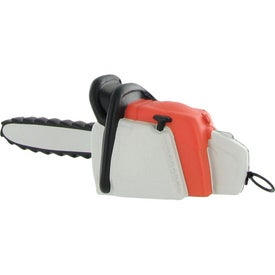 Vibrating Chainsaw Stress Ball with Your Logo