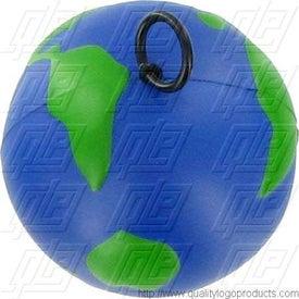 Printed Vibrating Earth Stress Ball