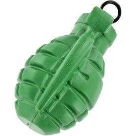 Personalized Vibrating Grenade Stress Ball