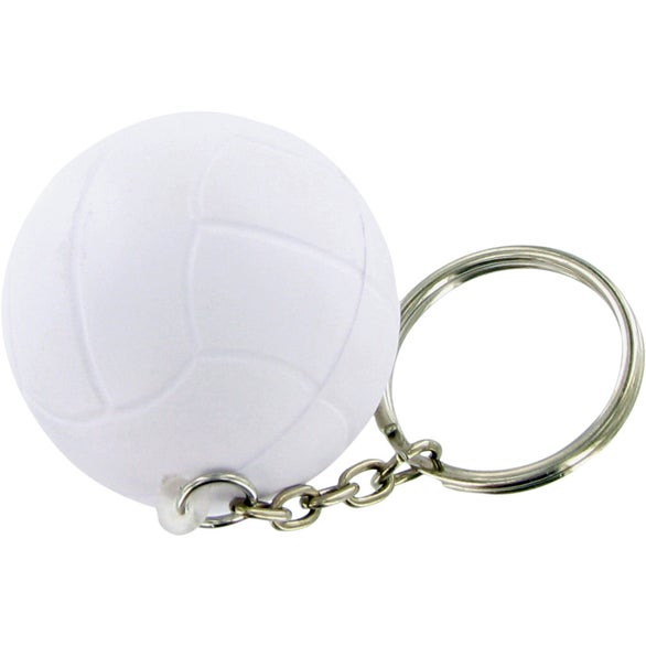 Volley Ball Keychain Stress Toy