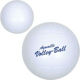 Volleyball Stress Ball (Economy)