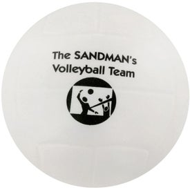 Company Volleyball Stress Ball
