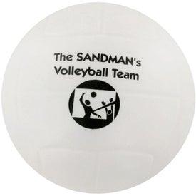 Company Volleyball Stress Ball