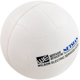 Imprinted Volley Ball Stress Toy