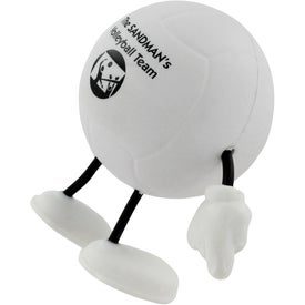 Volleyball Figure Stress Ball