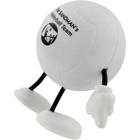 Volleyball Figure Stress Ball