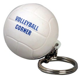 Volleyball Stress Ball Key Chains