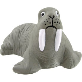 Walrus Stress Toy Printed with Your Logo