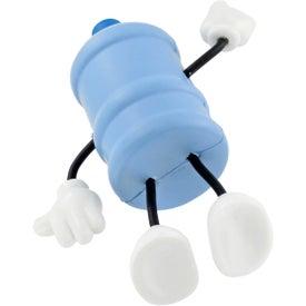 Company Water Bottle Figure Stress Ball