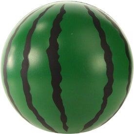 Printed Watermelon Stress Ball