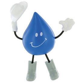 Western Droplet Figure Stress Ball
