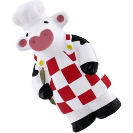Monogrammed What's Cooking Cow Stress Reliever