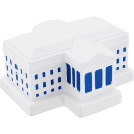 White House Stress Ball Branded with Your Logo