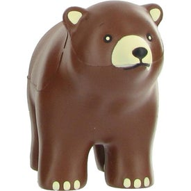 Bear Stress Ball Branded with Your Logo