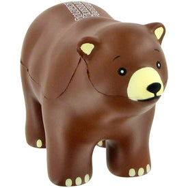Advertising Bear Stress Ball