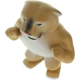 Wild Cat Cougar Mascot Stress Ball Imprinted with Your Logo