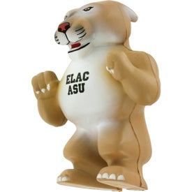 Wild Cat Cougar Mascot Stress Ball for Marketing