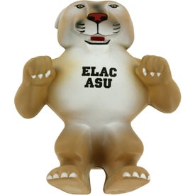 Wild Cat Cougar Mascot Stress Ball