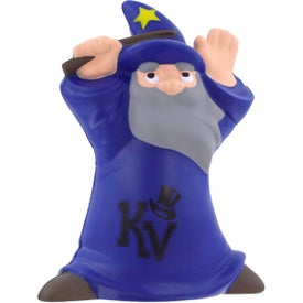 Imprinted Wizard Stress Reliever
