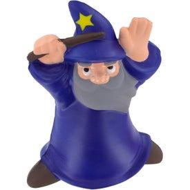 Branded Wizard Stress Reliever