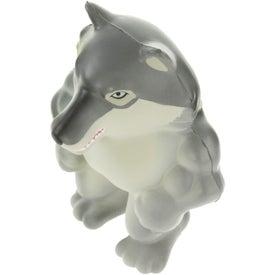 Wolf Mascot Stress Ball for Customization