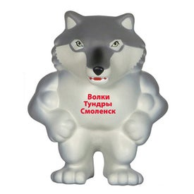 Wolf Mascot Stress Ball for Promotion