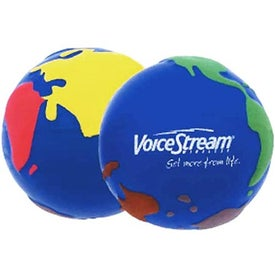 Custom World-In-Color Stress Reliever