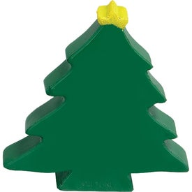 Advertising Christmas Tree Stress Ball