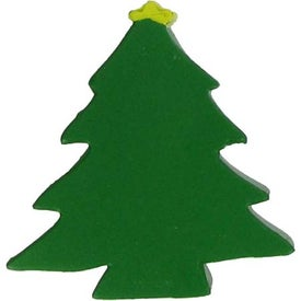 Christmas Tree Stress Ball Branded with Your Logo